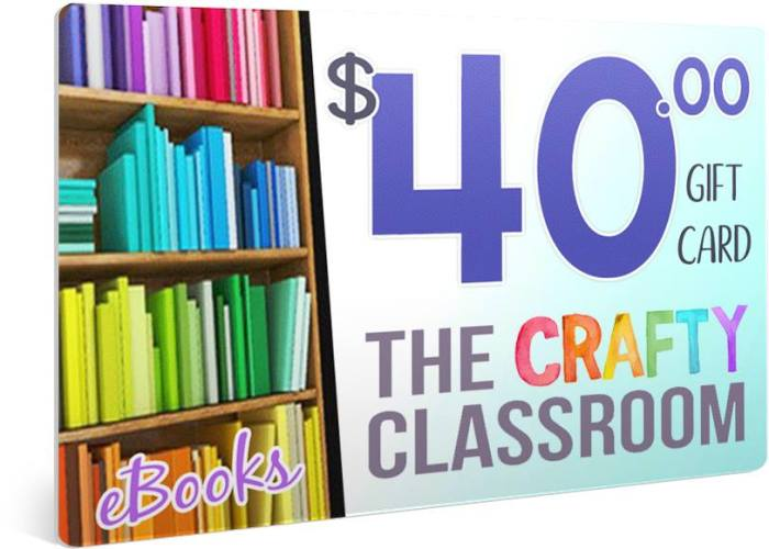 $40 Crafty Partners gift card giveaway and review of R.E.A.D. first grade curriculum