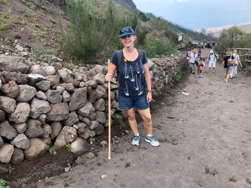 12 Tips for your trip to Italy, hiking up Mt. Vesuvius, from I Choose Joy!