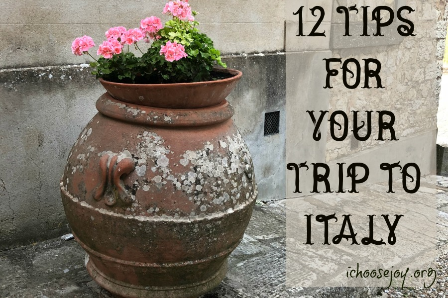 12 Tips for Your Trip to Italy