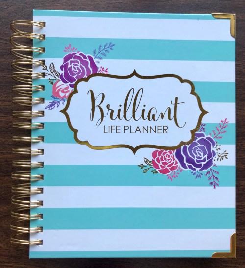 Brilliant Life Planner free stickers. I love this planner from Brilliant Business Moms! #planner #plannergirl #brilliantlifeplanner #ichoosejoyblog