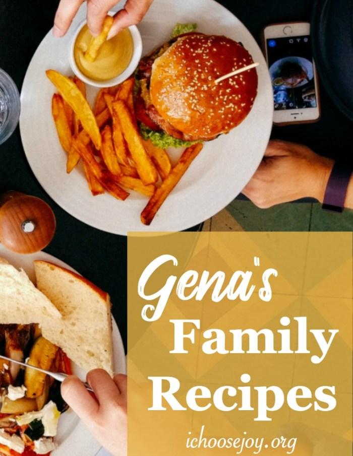 Gena's Family Recipes