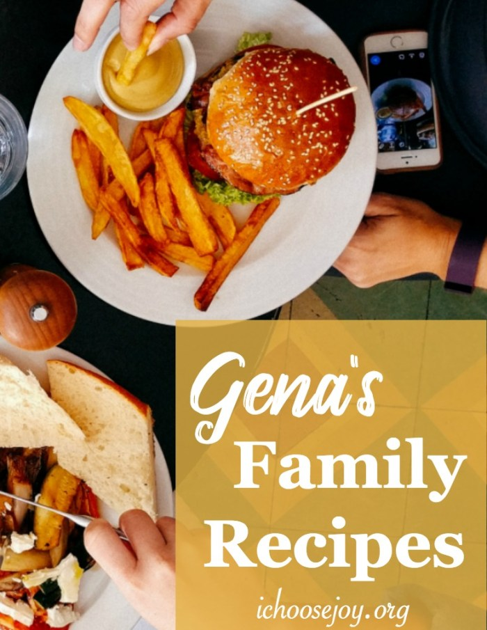 Gena's Family Recipes