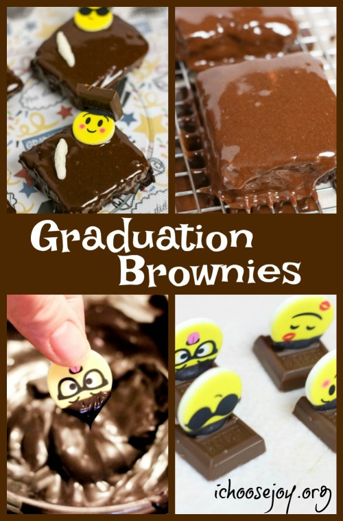Graduation Brownie Recipe for your graduation party or graduation open house celebration. Post also includes a graduation open house and party planning guide.