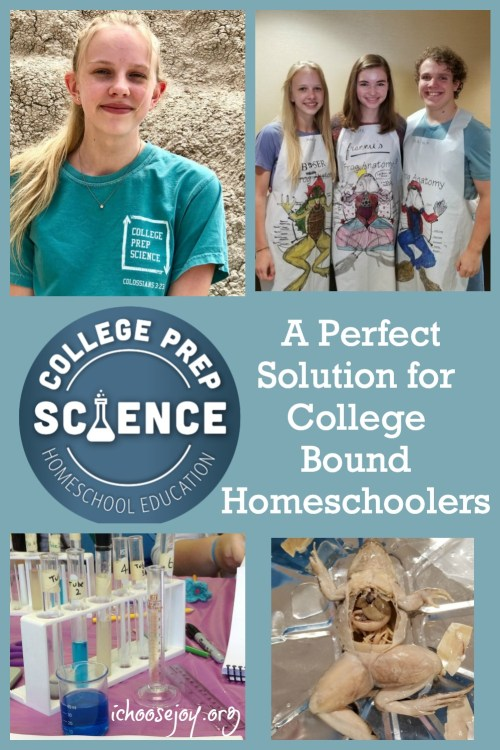 College Prep Science Classes and Lab Intensives: A Perfect Solution for College-Bound Homeschoolers
