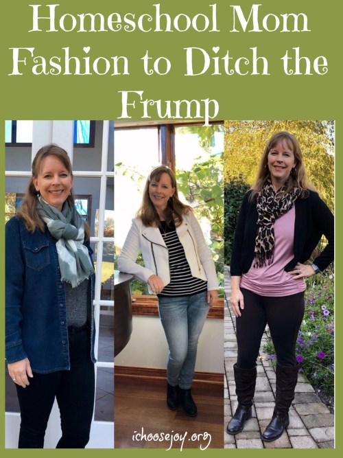 Get Your Pretty On Style Challenge for Homeschool Mom Fashion #ichoosejoyblog #momfashion #stylechallenge