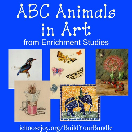 """ABC Animals in Art"" from Enrichment Studies"