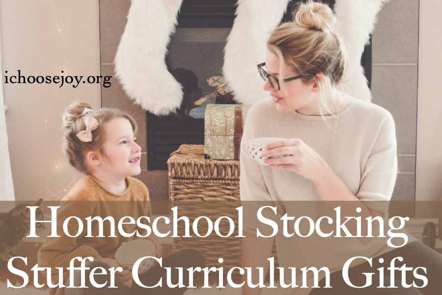 Get your Homeschool Stocking Stuffer Curriculum Gifts this year -- podcasting, Spanish, art, music, coding, and more.