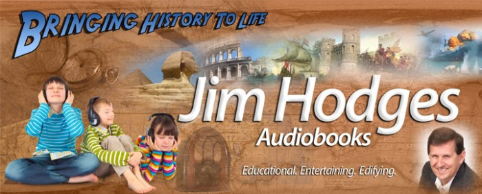 Jim Hodges Audio Books are educational and entertaining