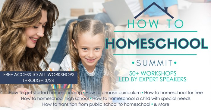 "The ""How to Homeschool"" Summit will answer ALL your questions about homeschooling with 40 speakers and over 50 workshops! Learn more here."