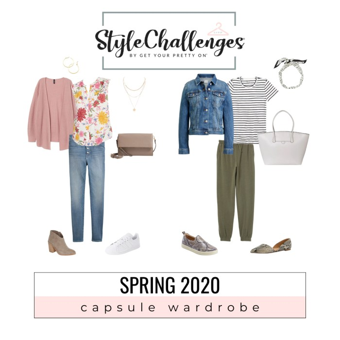Spring-2020-Capsule-Wardrobe from Get Your Pretty On. ~Homeschool Mom Fashion
