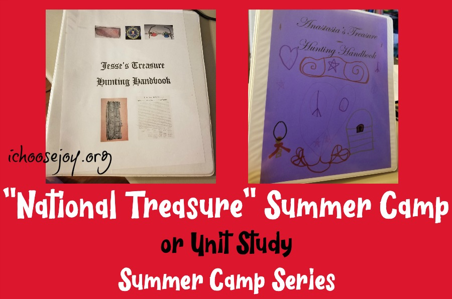 """National Treasure"" Summer Camp or Unit Study: Summer Camp Series"