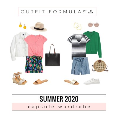 Summer Capsule Wardrobe outfit formula from Get Your Pretty On