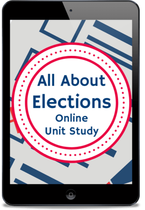 All About Elections Unit Study is part of the Homeschool Grab Bag 2020!