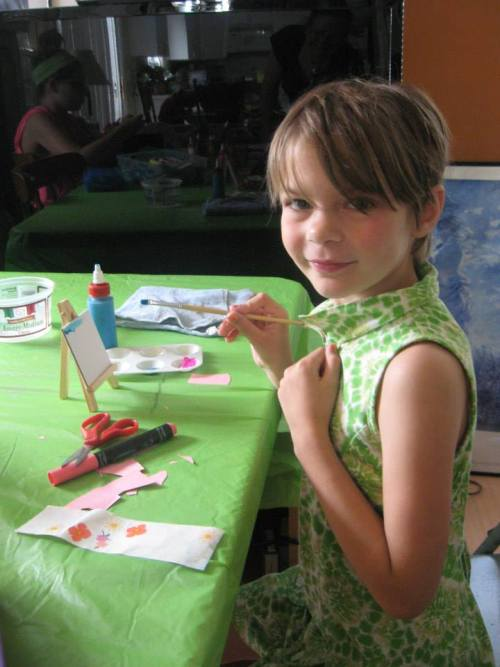 American Girl Craft Camp, great ideas for summer camp or party