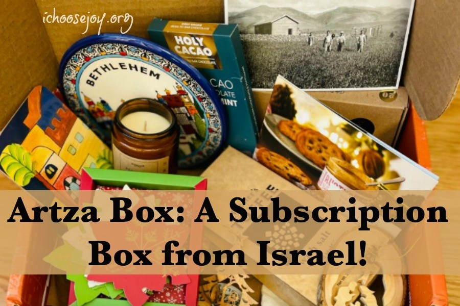 Artza Box: A Subscription Box from Israel!
