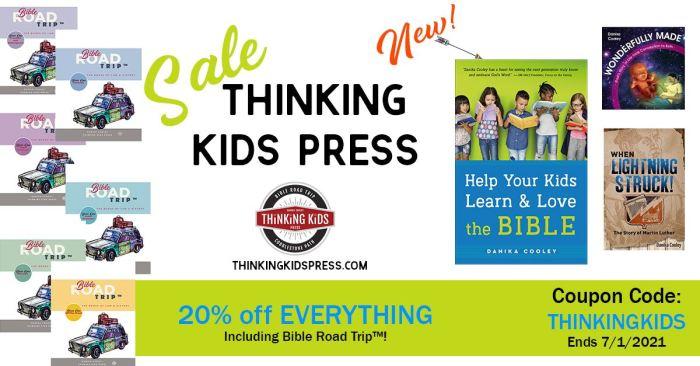 Thinking Kids Press sale