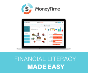 MoneyTime makes it easy to teach financial literacy to your kids.