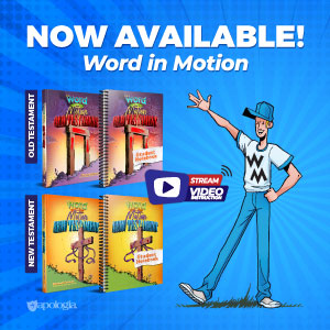 The Word in Motion new Bible Study from Apologia: Old and New Testaments