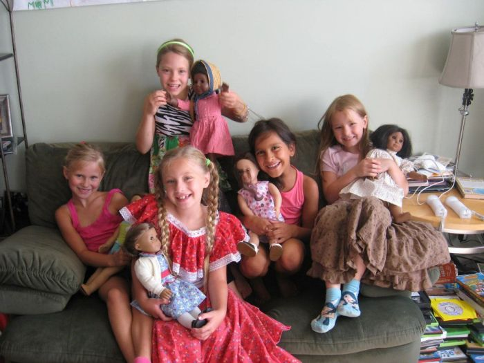 American Girl Book Club for moms and daughters