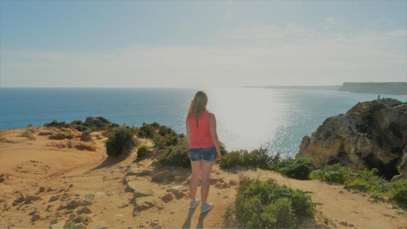 Portugal Algarve Lagos Ponta da Piedade Meer Atlantik Fernweh