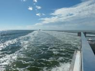 Bootsfahrt auf dem Golf von Mexiko