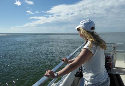 Fahrtwind genießen auf dem Golf von Mexiko