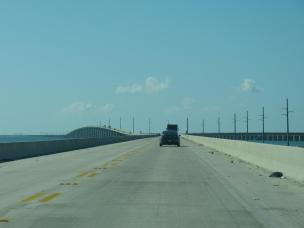 Amerika USA Florida Keys Overseas Highway Autobahn Seven Mile Bridge Brücke Meer