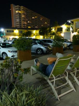 Relaxen am Car Pool