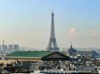Da ist der Eiffelturm!