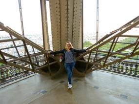 Eiffelturm hautnah