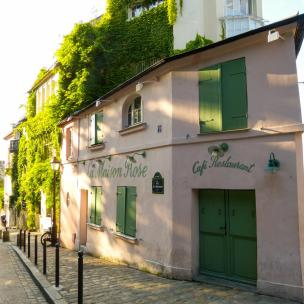 Gassen in Montmartre