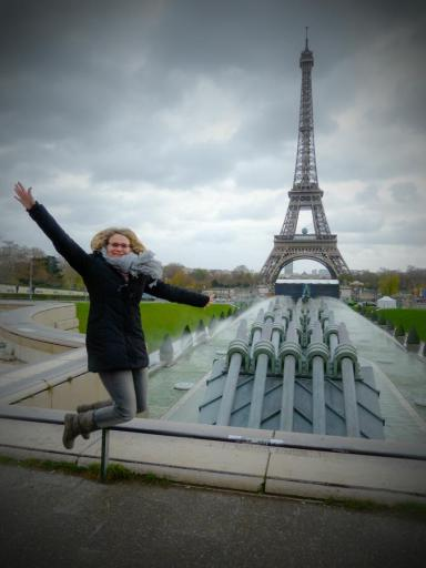 Happy in Paris