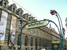 Metro Palais Royal - Musee de Louvre