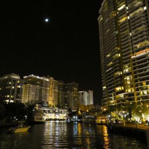 Nacht über Fort Lauderdale