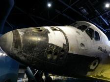 Space Shuttle Atlantis von vorne-1200x900