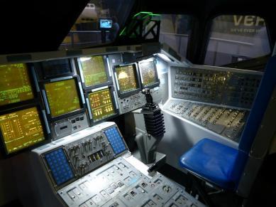 Space Shuttle Kommando Modul-1200x900