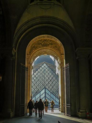 Toreingang zum Louvre