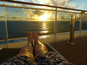 Sonnenuntergang vom Deck-1200x900