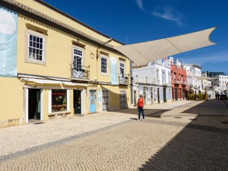Portugal Algarve Faro Innenstadt