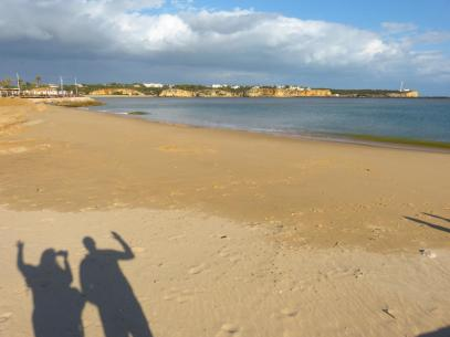 Portugal Algarve Portimao Praia da Rocha Strand Meer Hafen