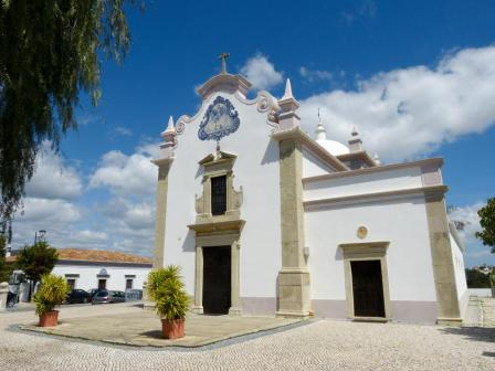 Portugal Algarve Almancil Igreja de Sao Lourenco Azulejos Kirche