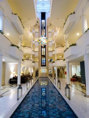 Portugal Algarve Portimao Praia da Rocha Hotel Oriental