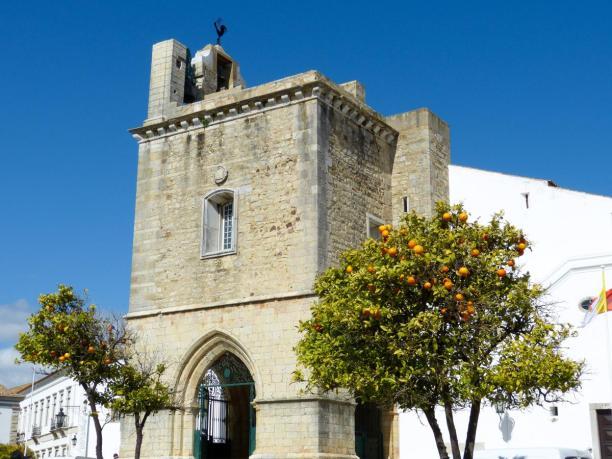 Portugal Algarve Faro Altstadt Kathedrale