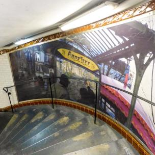 Paris Metro Station Abbesses