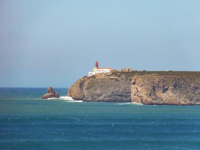 Algarve Ponta de Sagres Fortaleza Cabo Sao Vicente Küste