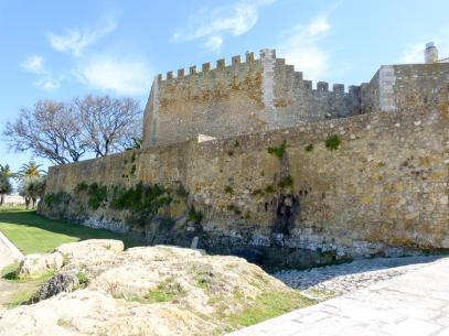 Algarve Lagos Altstadt Festung