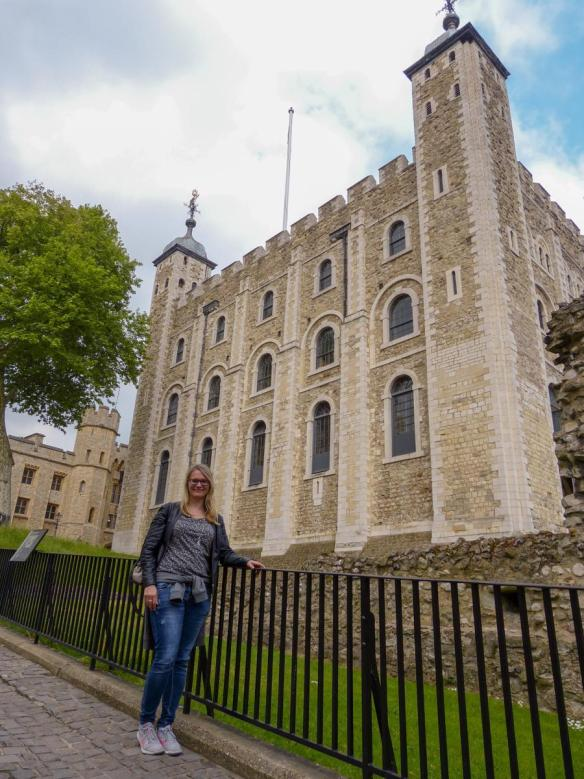 London Tower of London White Tower