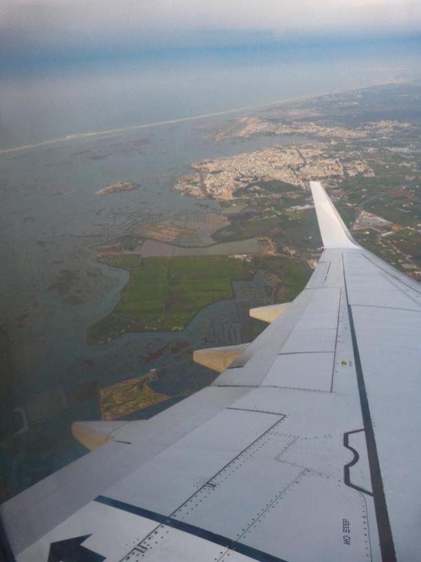 Algarve Faro Flugzeug