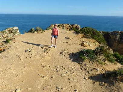 Algarve Lagos Ponta da Piedade Felsenlandschaft Meer