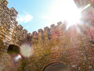Algarve Lagos Altstadt Stadtmauer